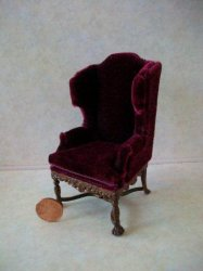 """Wexburgh"" Grande Wing Chair -"