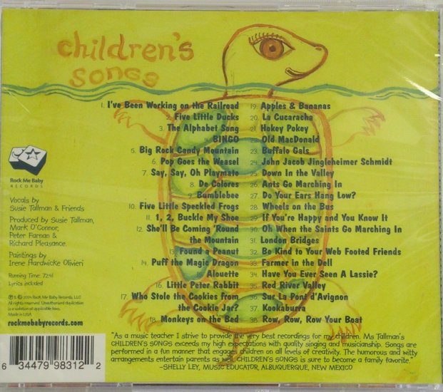 Children's Songs - Click Image to Close