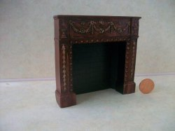 Fireplace, Rosewood