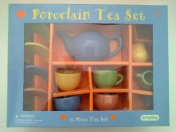 Multi Color Teaset