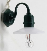 Outdoor Security Light - Green
