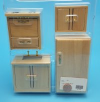 Modern Kitchen Oak set