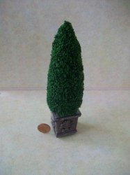 Topiary Tall Tree, Sq. Base