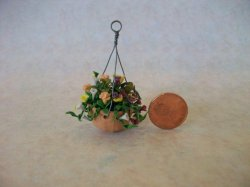 Mix Flowers in Hanging Pot