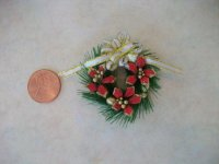 Poinsettias Wreath