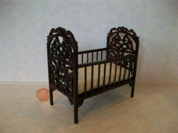 """Belter"" Carved Crib"