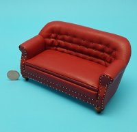 Sofa Red Walnut