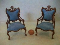 Lyre Chairs (Pair)