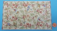 Large Area Rug Birds and Floral