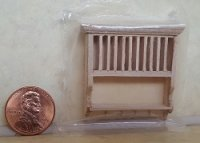 "1/2"" Scale Plate Shelf"