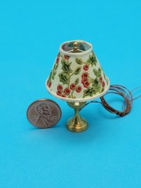 Table Lamp with Holly Shade