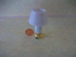 White Base Table Lamp