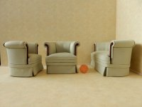 """Cottage"" Sofa Set - 3 pc"