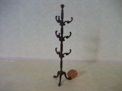 Coat/Hat Rack - Mahogany