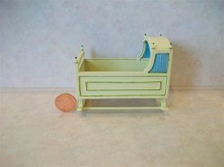 """Baby Bliss"" Cradle - Ivory"
