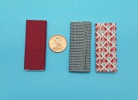 Set of 3 Fabric Bolts - Reds/Bl