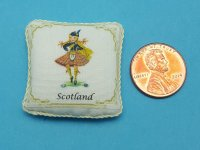 Handmade Scotland Pillow by DbJ