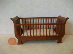 """Baby Bliss"" Crib - Pink"