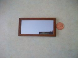 Ashley Rectangle Mirror - Spice