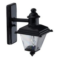 Sm Blk Coach Lamp