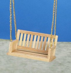 Porch Swing - Oak 3-1/2""