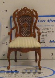 """Armorial"" Pierced Arm Chair"