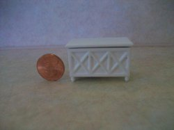 "White Toy Box 1/2"" scale"