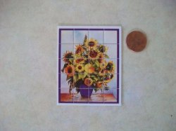 Wall Mosaic - Sunflower Arrange