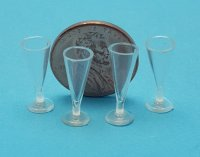 Pilsener Glass, Empty, Set of 4