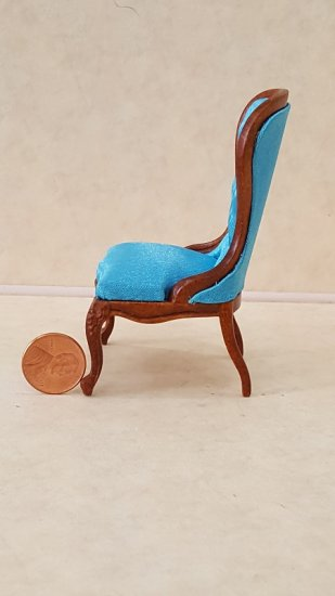 Spoon Back Chair - Blue - Click Image to Close