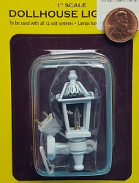 White Coach Lamp