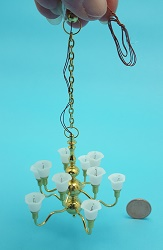10-Arm two tier Tulip Chandelie