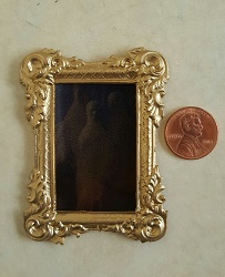 Gold Rect. Ghost Mirror