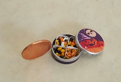 Halloween Treats in Tin