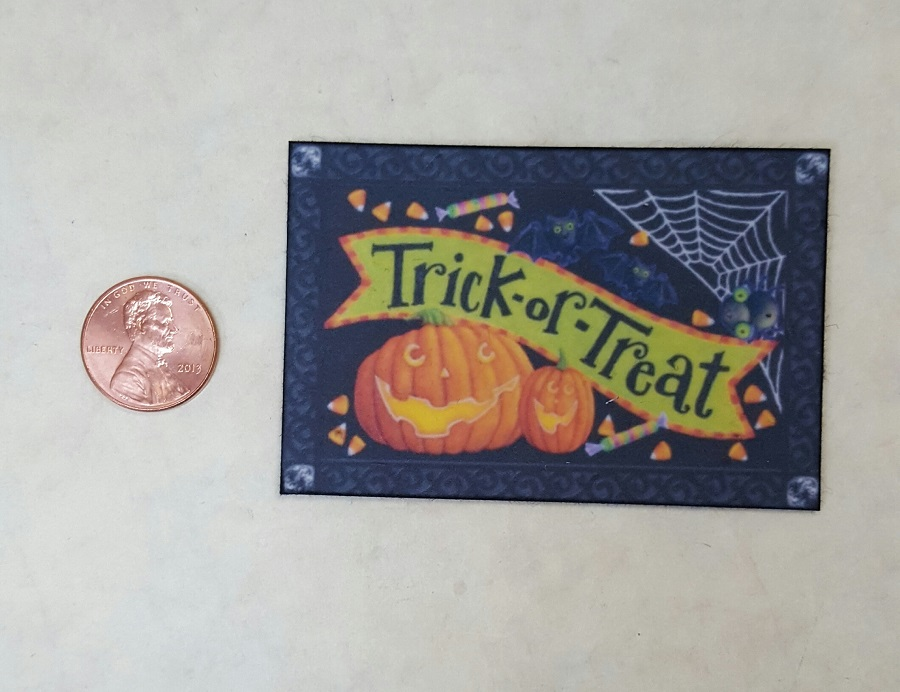 Welcome Mat - Trick or Treat