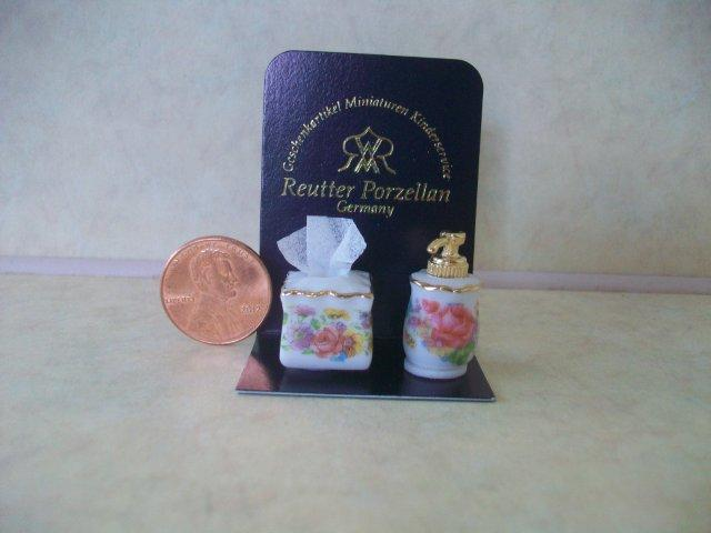Soap Dispenser & Tissue Set