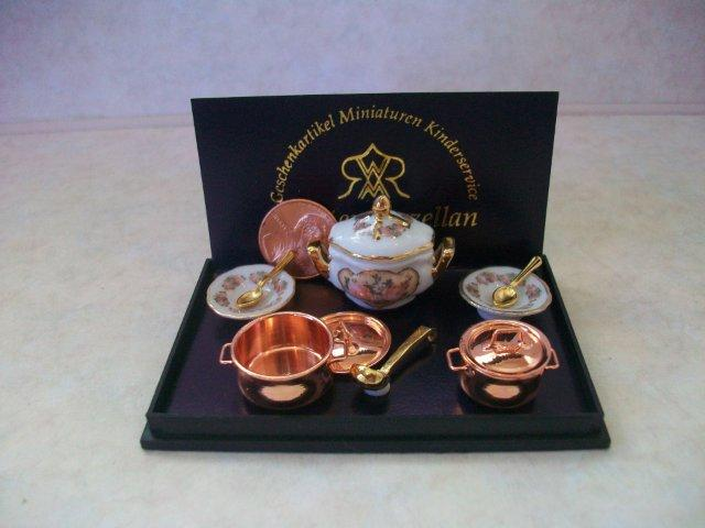 Classic Rose Soup Set