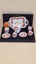 English Rose Tea Set for 2