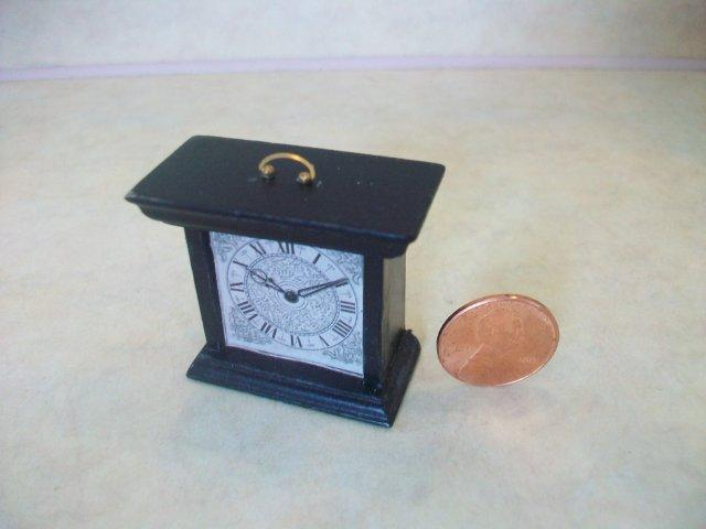 Mantel Clock - Ebony