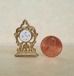 Gold Mantle Clock