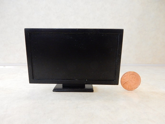 Large Screen TV Black Screen
