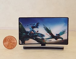 Curved TV w/3D Image