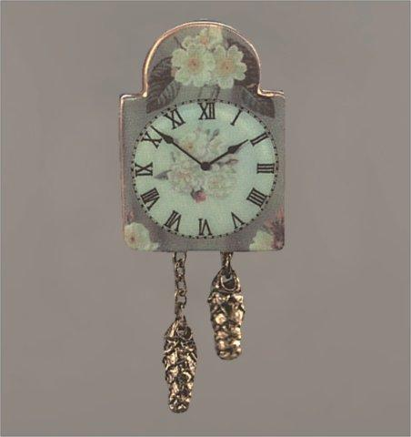 English Rose Wall Clock
