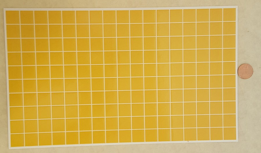 Plain Tiles (goldenrod)