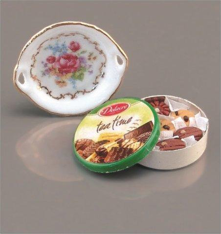 Large Cookie Tin Set