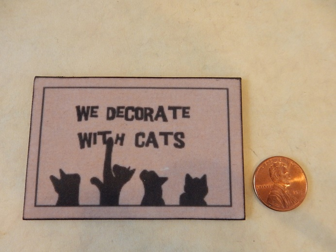 Decorate With Cats Mat