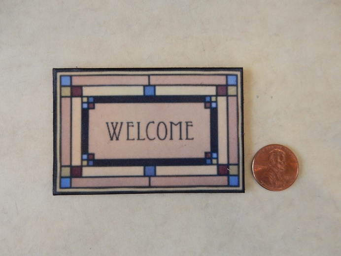 FLW Welcome Mat