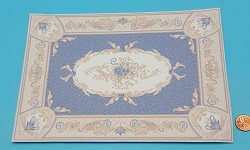 Aubusson Blue Rug