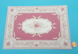 Aubusson Red Rug