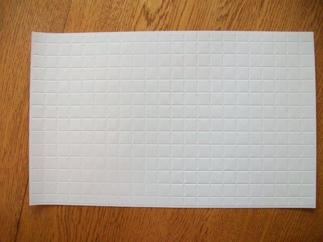 Wall Tile - White Full Squares